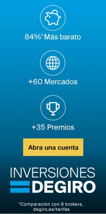 DeGiro mejor broker online fondos