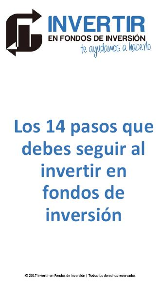 como invertir en fondos de inversion