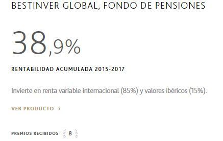planes de pensiones bestinver, bestinver global