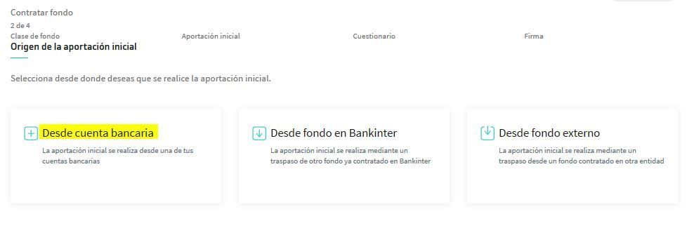 contratar fondos de inversion bankinter