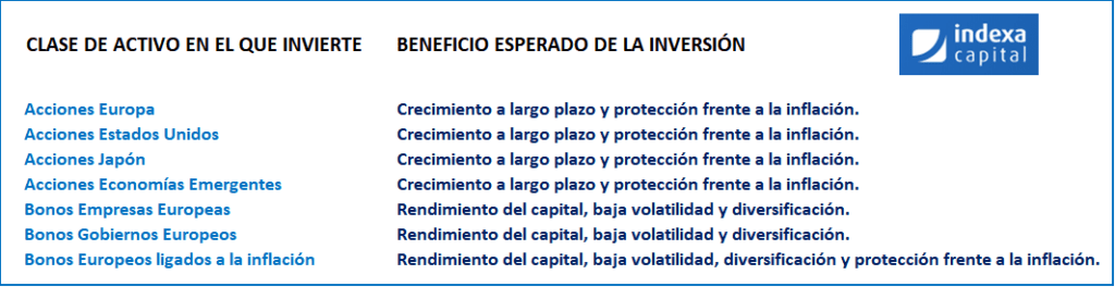 opinion indexa capital, indexa capital politica de inversion