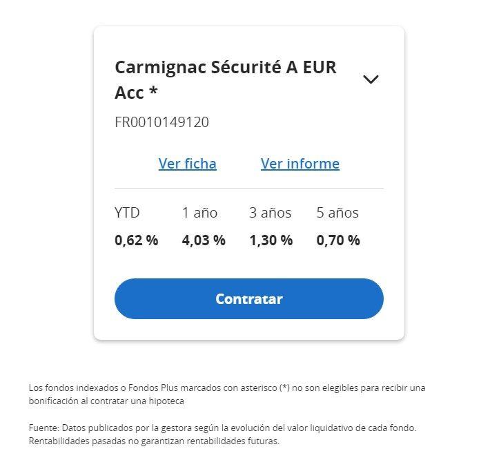 rentabilidad carmigmac securite myinvestor