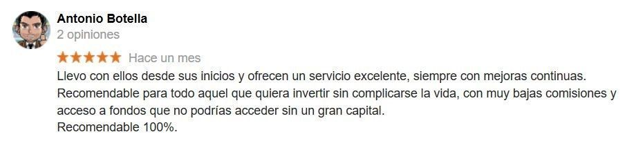 opinion de indexa capital