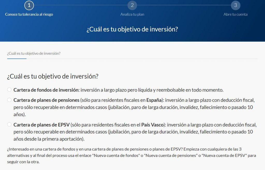 perfil de riesgo inversor en fondos de inversion