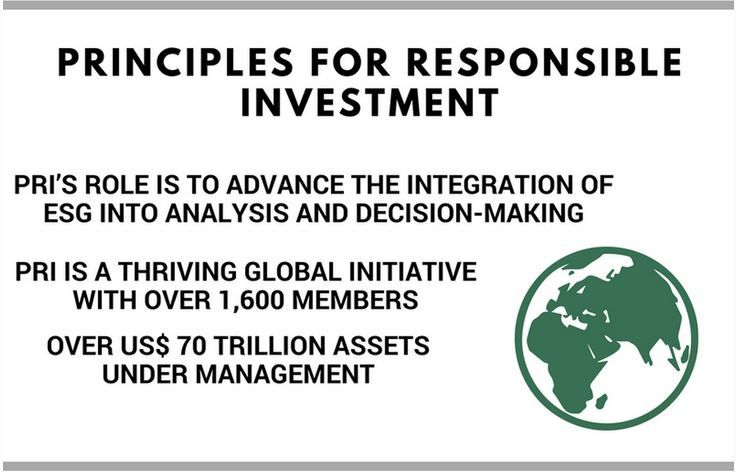 principios de la inversion socialmente responsable, fondos socialmente responsables