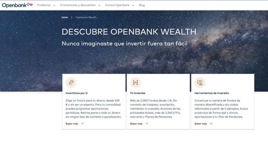 buscador de fondos openbank, fondos inversion openbank