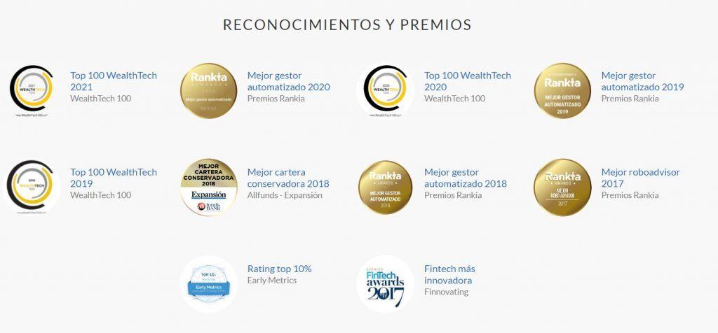 premios indexa capital, reconocimientos indexa capital
